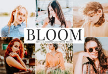 Free Bloom Lightroom Preset