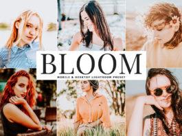 Free Bloom Lightroom Preset