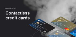 Free Contactless Credit Card Mockup
