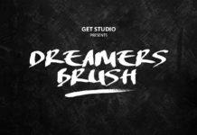 Free Dreamers Brush Font