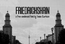 Free Friedrichshain Sans Serif Font