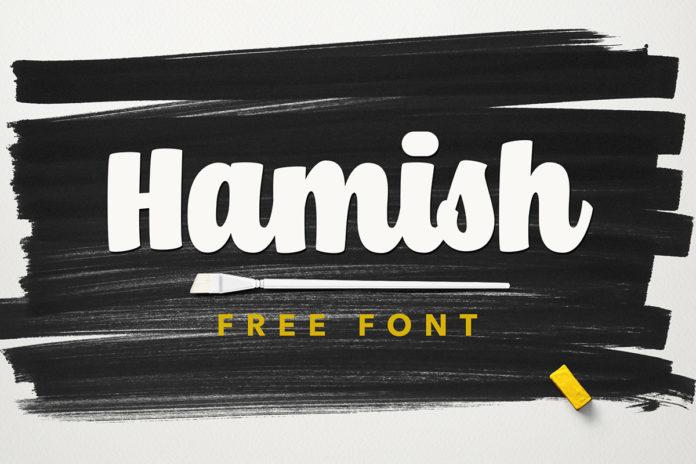 Free Hamish Script Font