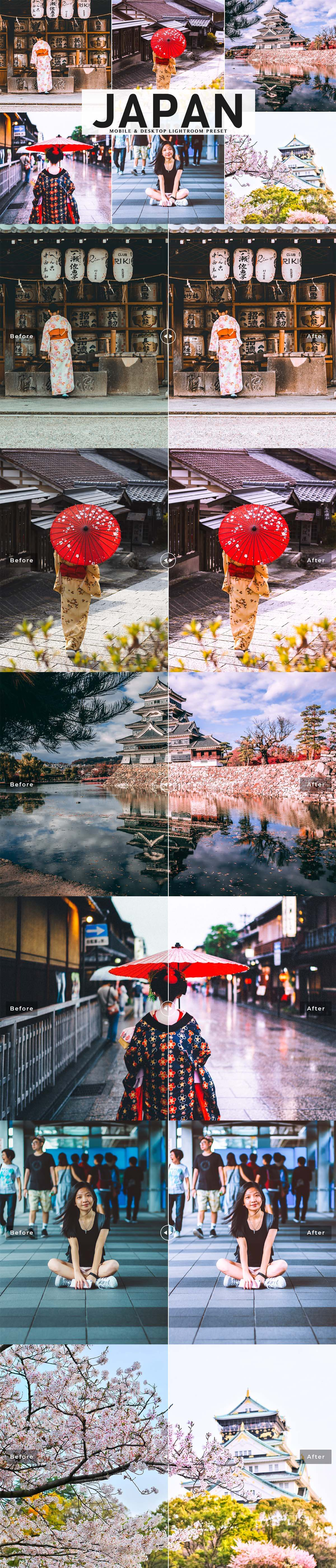 Free Japan Lightroom Preset