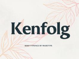Free Kenfolg Serif Font