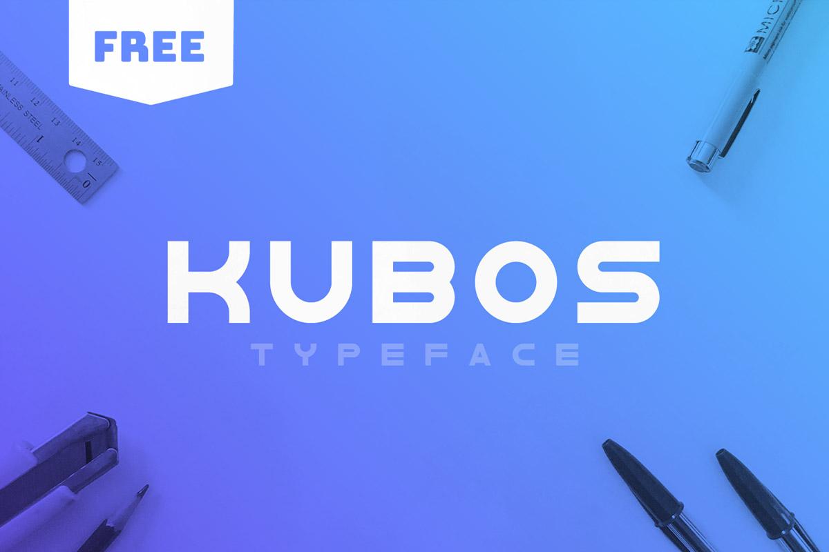 Free Kubos Sans Serif Font Family