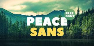 Free Peace Sans Serif Font