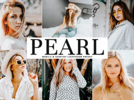 Free Pearl Lightroom Preset