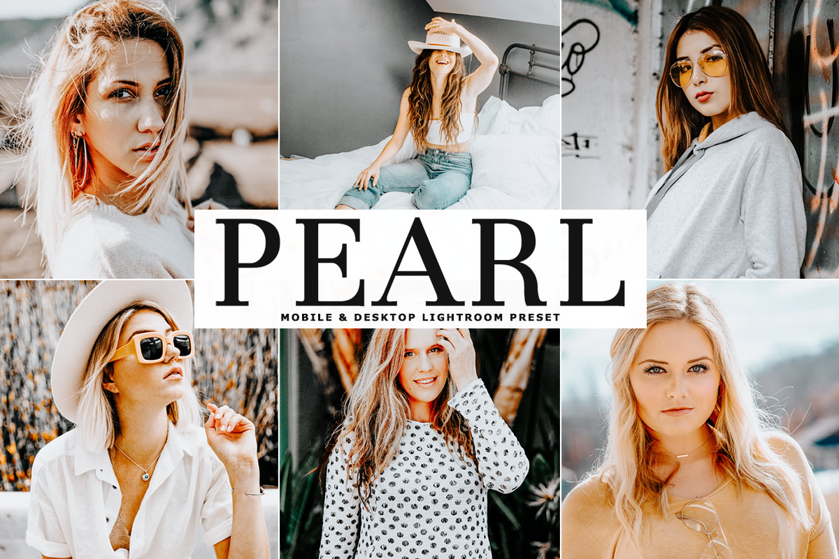 Free Pearl Lightroom Preset