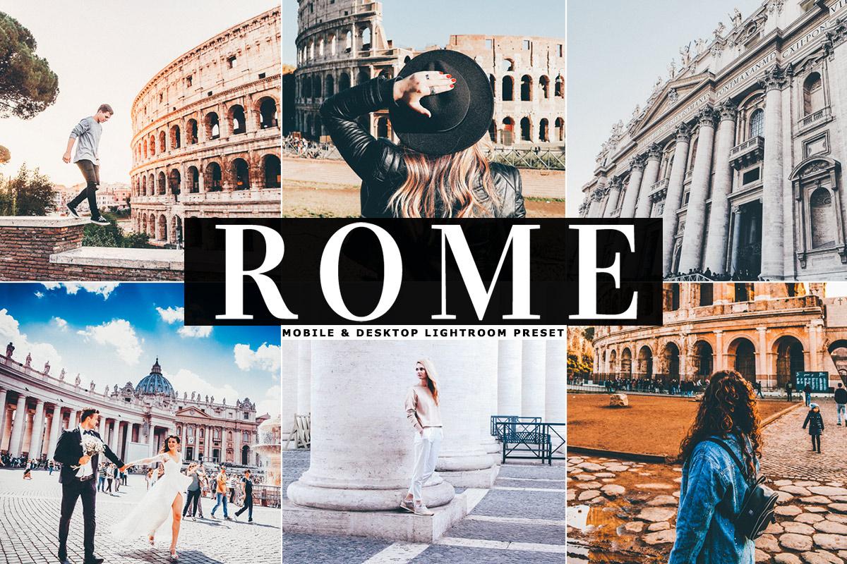 Free Rome Lightroom Preset