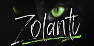 Free Zolanti Handwritten Brush Font