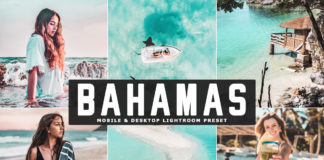 Free Bahamas Lightroom Preset
