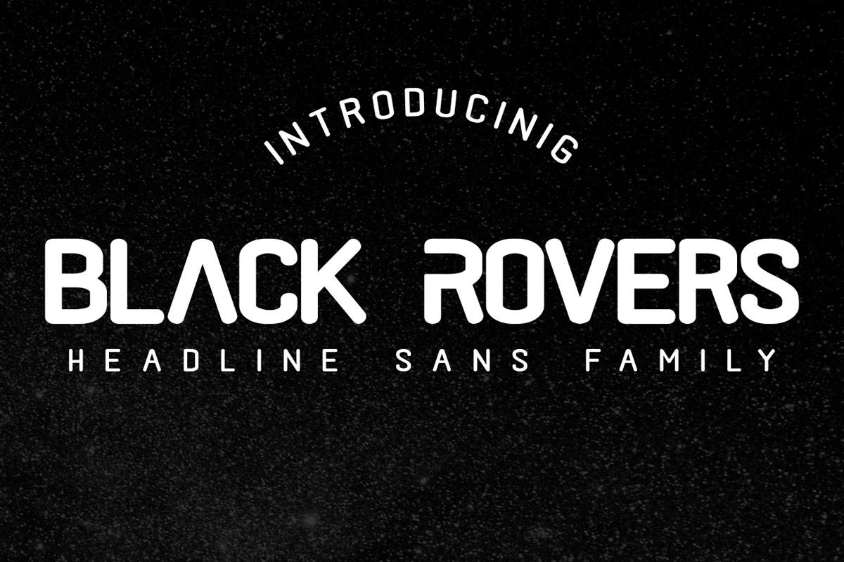 Free Black Rovers Sans Serif Font