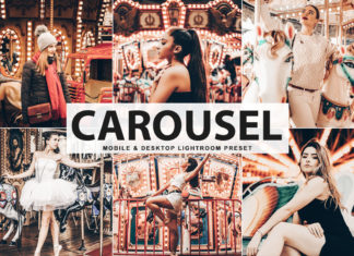 Free Carousel Lightroom Preset