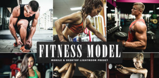 Free Fitness Model Lightroom Preset