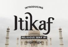 Free Itikaf Religious Serif Font