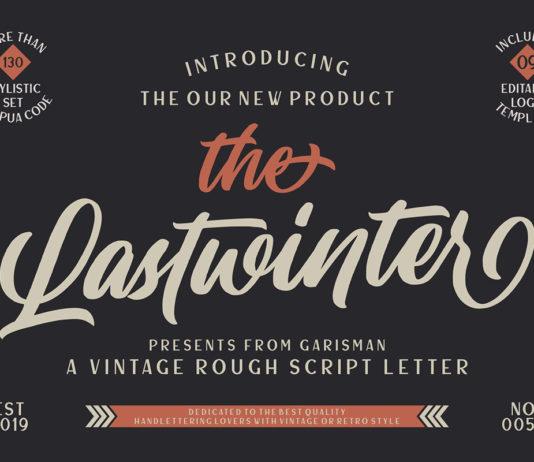 Free Lastwinter Vintage Script Font