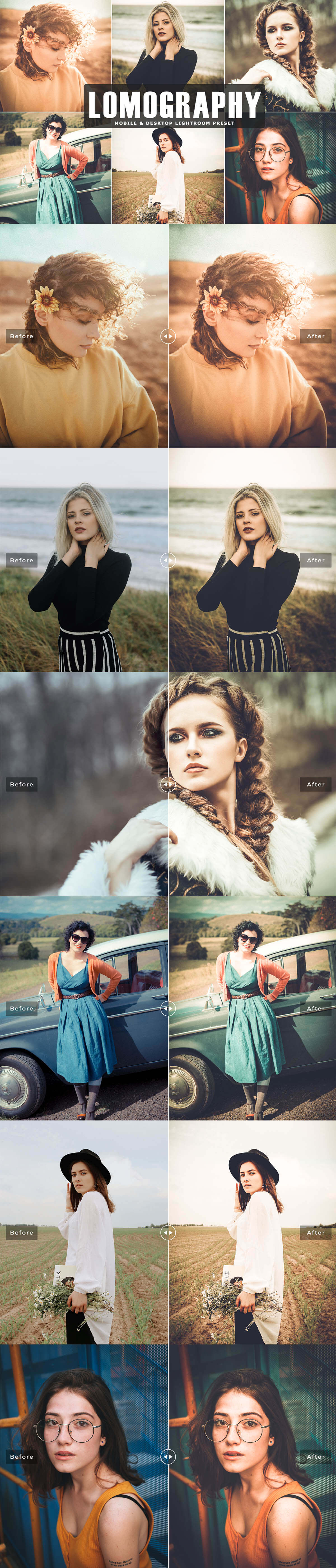 Free Lomography Lightroom Preset