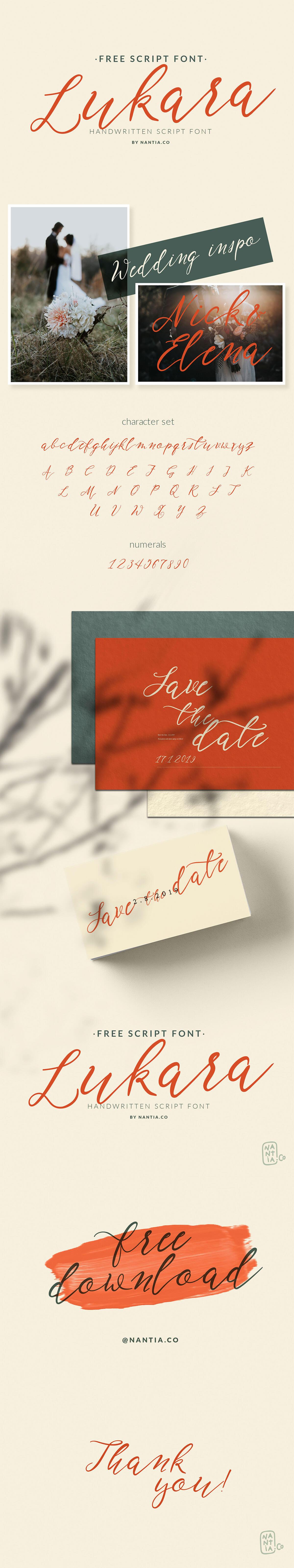 Free Lukara Script Font
