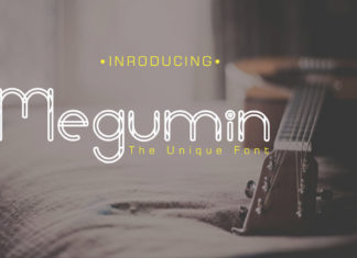 Free Megumin Display Font