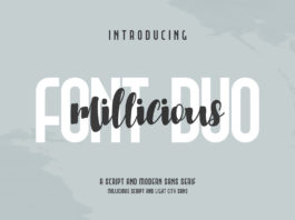 Free Milliciaous Script Font