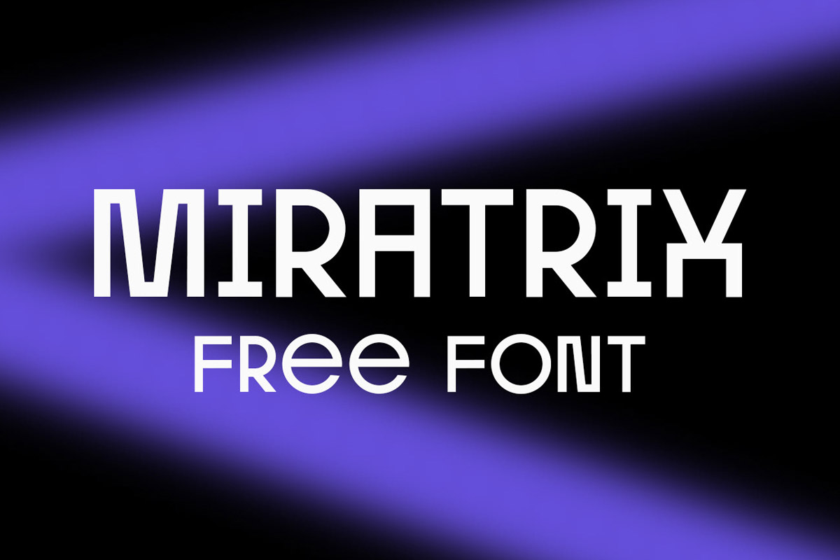 Free Miratrix Grotesque Font