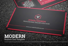 Free Modern Business Card Template