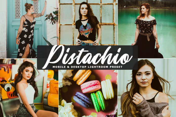 Free Pistachio Lightroom Preset