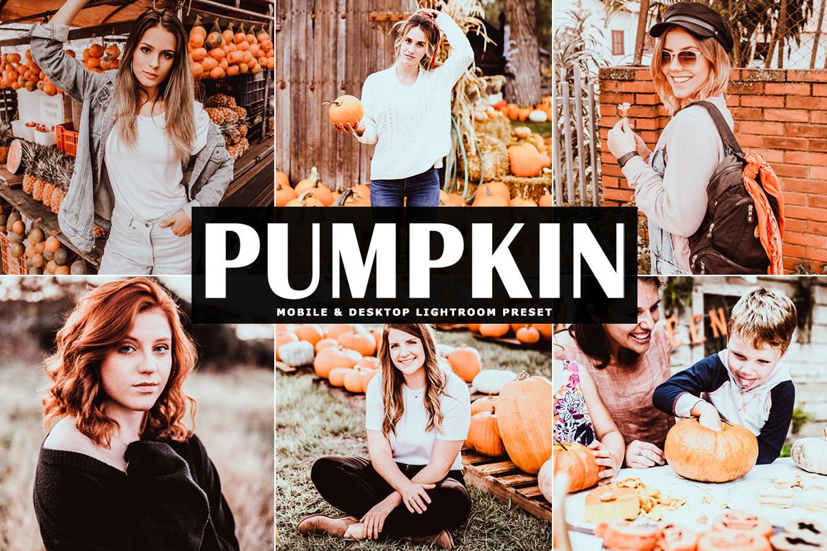 Free Pumpkin Lightroom Preset