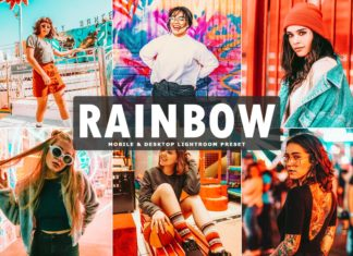 Free Rainbow Lightroom Preset