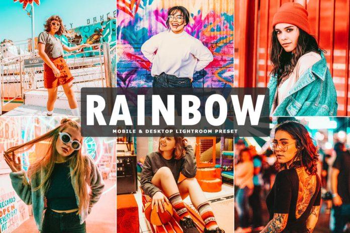 Free Rainbow Lightroom Preset