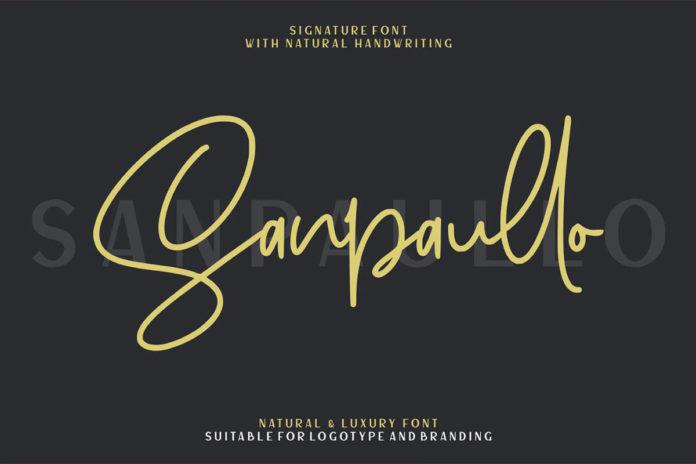 Free Sanpaullo Script Font