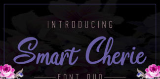 Free Smart Cherie Duo Handwriting Font