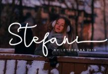 Free Stefani Calligraphy Font