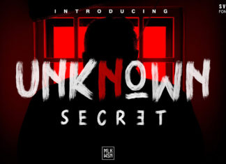 Free Unknown Secret Brush Font