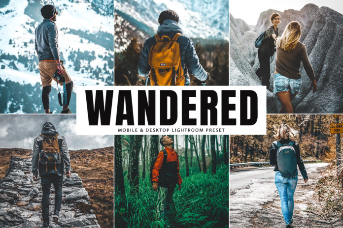 Free Wandered Lightroom Preset