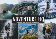 Free Adventure HQ Lightroom Preset