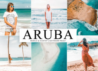 Free Aruba Lightroom Preset