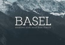 Free Basel Slab Serif Font Family