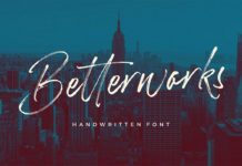 Free Betterworks Brush Font