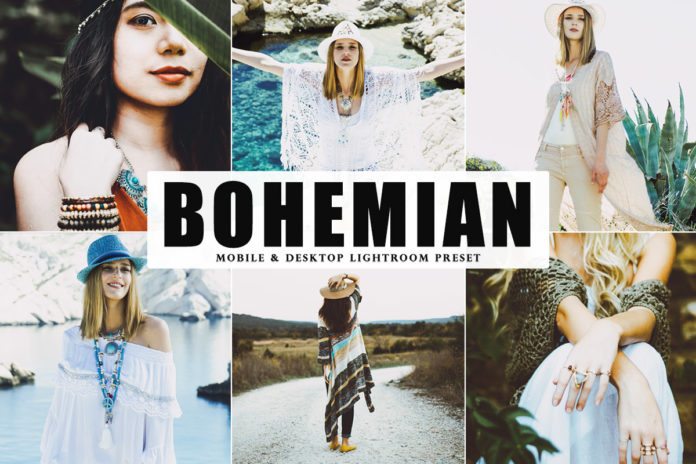 Free Bohemian Lightroom Preset