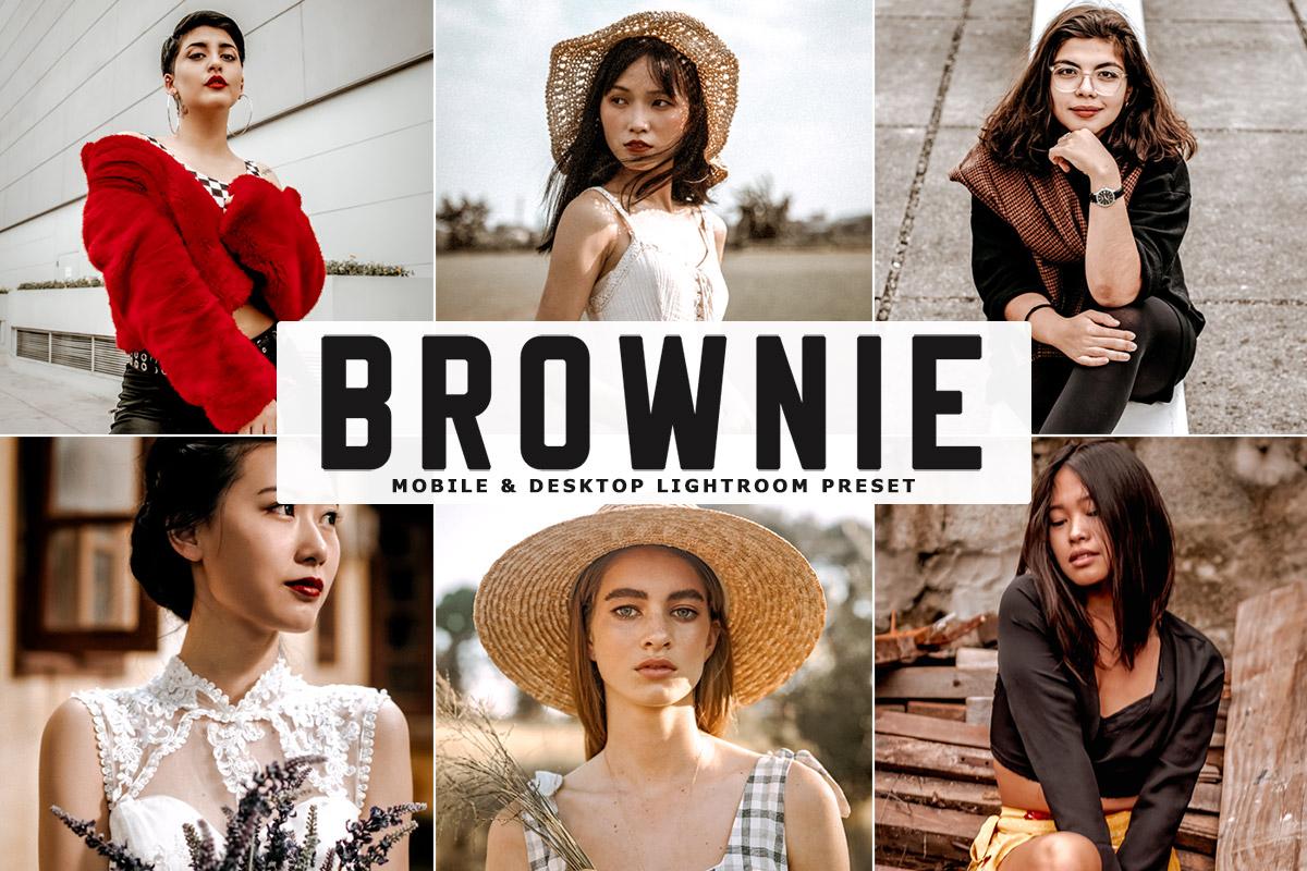 Free Brownie Lightroom Preset