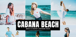 Free Cabana Beach Lightroom Preset