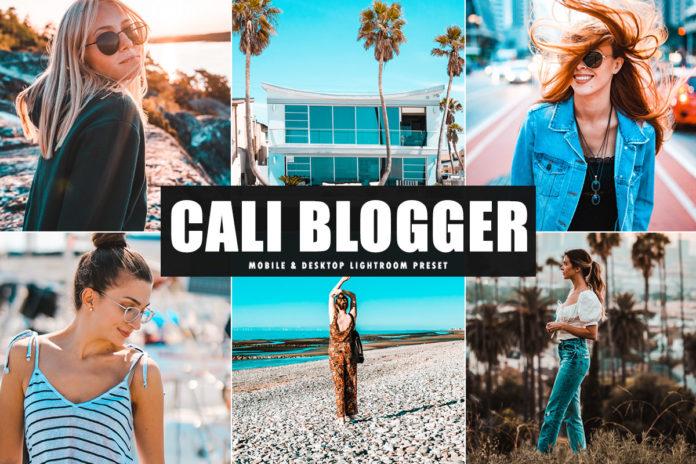 Free Cali Blogger Lightroom Preset