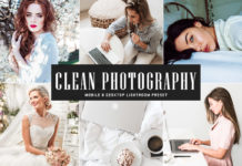 Free Clean Photography Lightroom Preset