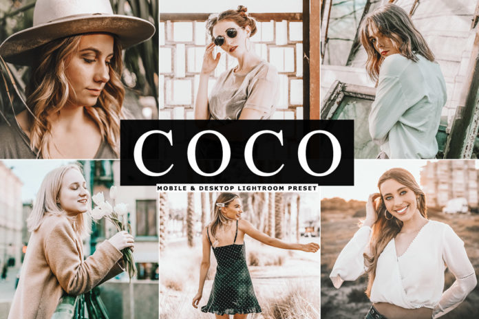 Free Coco Lightroom Preset
