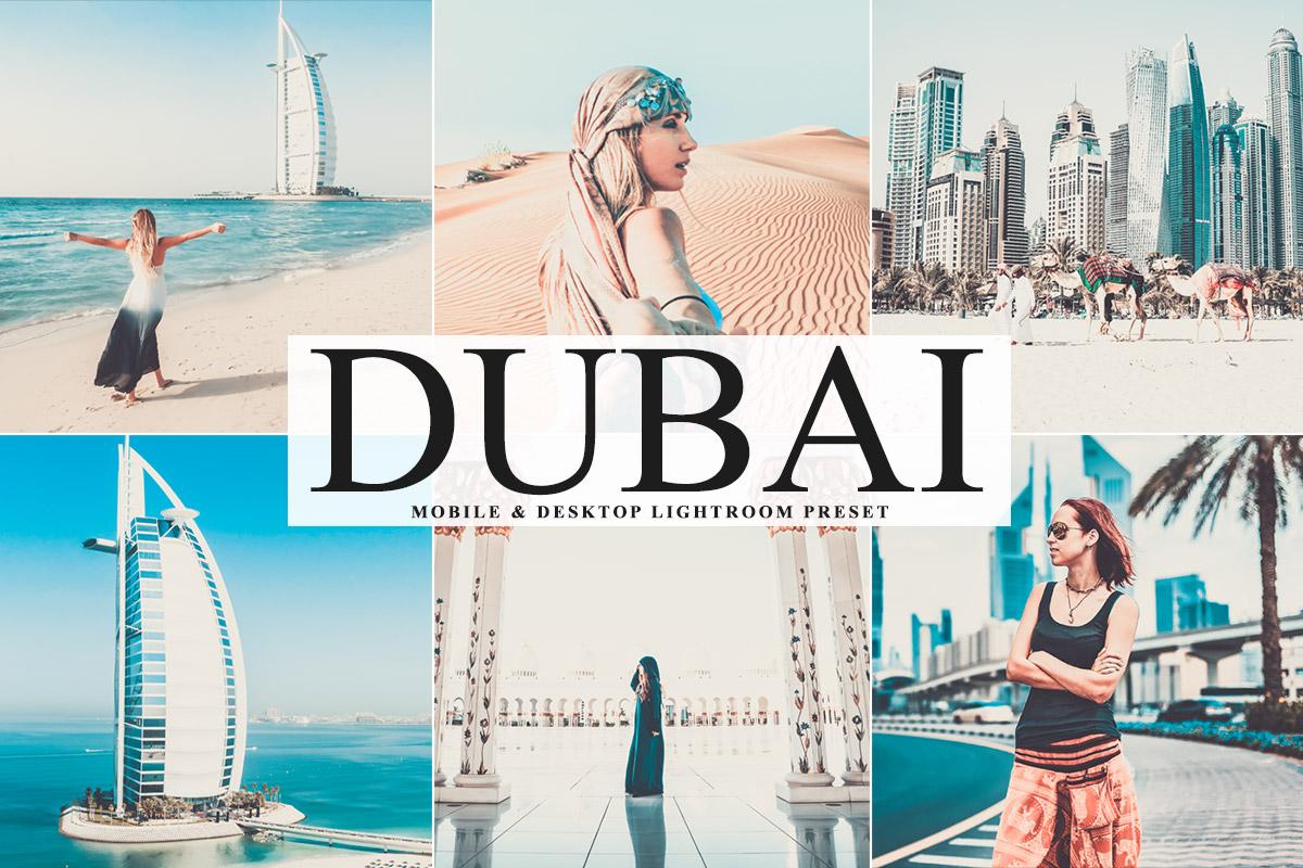 Free Dubai Lightroom Preset