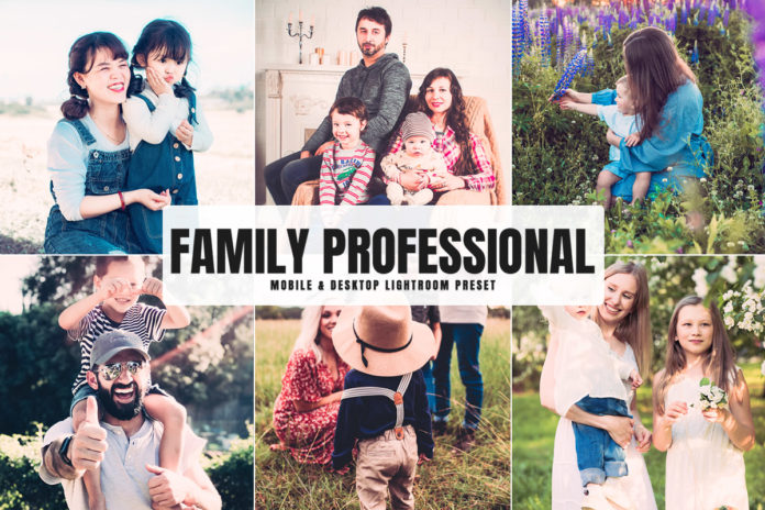 Free Family Professional Lightroom Preset