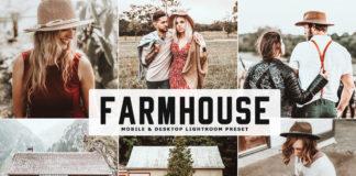 Free Farmhouse Lightroom Preset