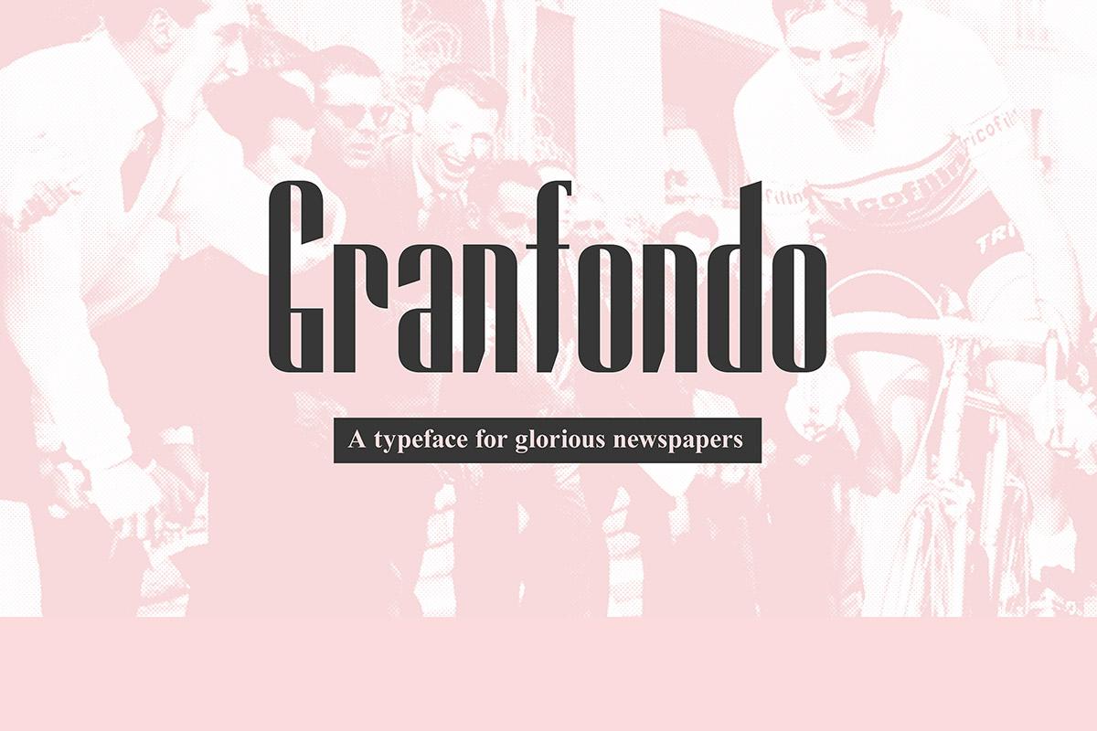 Free Granfondo Serif Font
