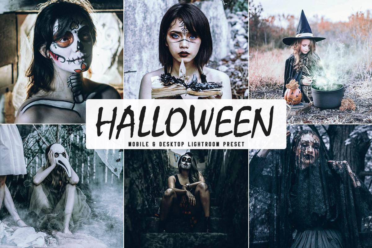 Free Halloween Lightroom Preset